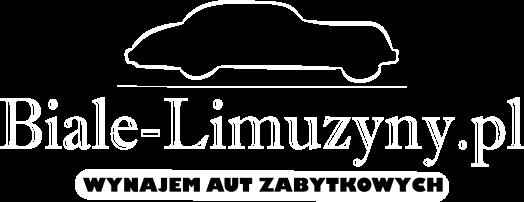 logo białe limuzyny białe